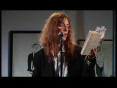 Patti Smith - A Reading Of Virginia Woolf. Open Culture.