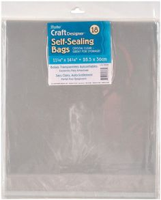 Self Sealing 11.25-Inch x 14.25-Inch Bag, 18-Pack