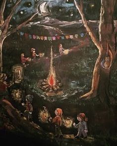 Lousa Waldor Festa de São João #escolawaldorfveredas#lousa Illustration, Art Drawings, Drawings, Painting, Chalkboard Art, Art, Zentangle Art, Outdoor Art, Chalkboard Drawings