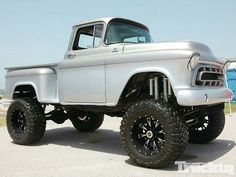 57 Chevy Step Side 4X4