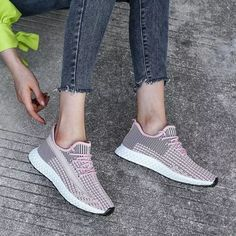 2021 New sports women's shoes breathable comfortable and not stuffy, running fitness large size 43 vulcanized shoes women's Sneaker Outfits Women, Tie Pattern, Running Workouts, Sneaker Brands, Toe Shape, T Strap, Sports Women, Women's Shoes, Adidas Sneakers