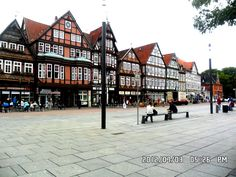 Houses in Celle, Lower Saxony. I have lived here for two weeks. This photo was taken in the central of the town. This town is so relaxing and totally gracious.