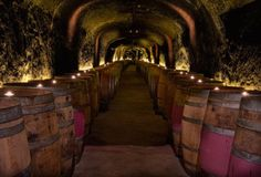 Del Dotto Vineyards This historic cave, hand-dug in 1885, was opened to the public in 1999 for wine tastings and, we're assuming, entrance rituals into The Skulls.