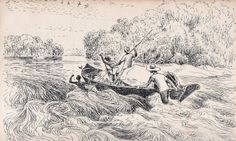 Olímpia Reis Resque: Viajantes: Os canoeiros de rios encachoeirados.