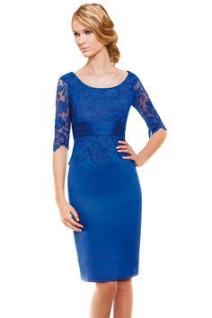 Vestido corto modelo 11140019 by Sonia Peña | Boutique Clara. Tu tienda de vestidos de fiesta.