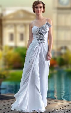 Ivory Spaghetti Strap Flowers Sweetheart Ball Gown Long Evening Dress Cool 2516bf62ad1f