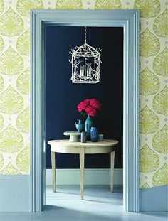 So here are the latest prints and designs of wallpaper designs for your walls, ceilings and bookcases. Let's take a look at some of the best interior design wallpaper, everything from florals, to wood textures, murals and more. Foyers, Hunting Wallpaper, Lotus Wallpaper, Green Wallpaper, Bright Wallpaper, Beautiful Wallpaper, Fabric Wallpaper, Pattern Wallpaper, Paint And Paper Library