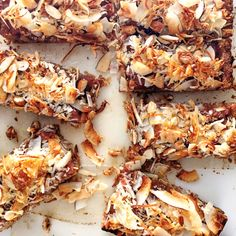 Five different types of coconut go into our quintuple-threat breakfast (or snack) bars. Nutrient-dense and sweet enough to satisfy even the youngest members of your household.