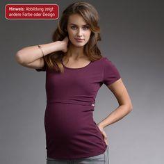 Das kurzärmelige Shirt in Schwarz von boob hat eine praktische Doppelfunktion für die Schwangerschaft und die Stillzeit danach. Das Basic-Shirt ist dank weichem, dehnbarem Material bereits in Ihrer Schwangerschaft ein unverzichtbares Kleidungsstück; das mit Ihrem Babybauch mitwächst. Für die Stillzeit hat das Oberteil einen praktischen Eingriff im Taillenbereich, durch den Sie Ihr Baby bequem an die Brust legen können; ohne diese oder Ihren Bauch entblößen zu müssen.