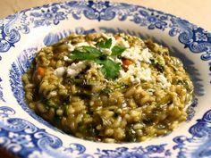 Spanac cu orez Romanian Recipes, Romanian Food, Risotto, Ethnic Recipes, Home