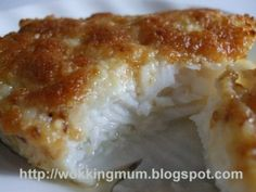 Baked Cod with Garlic Mayonnaise Recipe