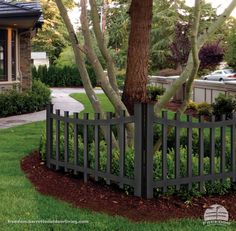 Wrought Iron Fence In Front Yard Lowes Has This Option In