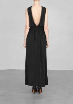 & Other Stories   Cupro maxi dress