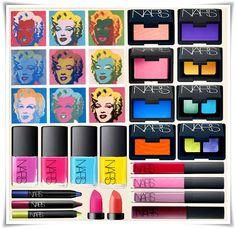 Pop Art Beauty NARS Fall 2012 Andy Warhol Makeup Collection