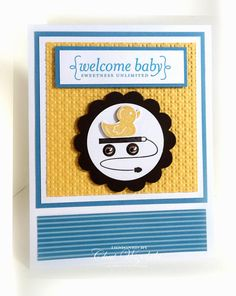 Stampin' Up Welcome Baby