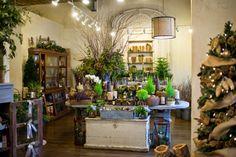 Les Fleurs: andover floral shop : florist : christmas decorating : leah haydock photography