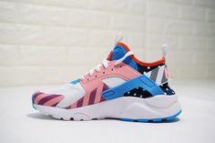 30a8d4c58a4f3 Nike Air Huarache Run Ultra Textile White Multi-Color 847568-101 Mens Womens