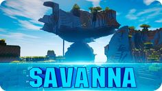 Minecraft Seeds - Giant Flying Savanna Plateau - EPIC Flying Island Seed...