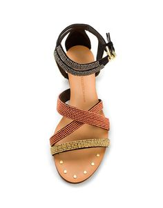 STRAPPY SANDAL WITH ORNAMENTS - Woman - New this week - ZARA United States