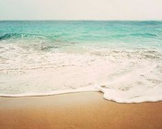 Bree Madden Ombre Beach Photography Print