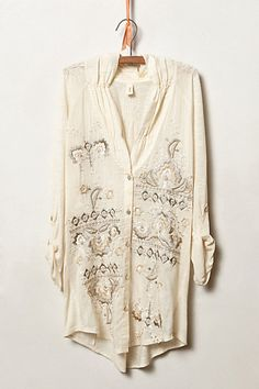 Tiny Stitched Nomad Top #anthropologie