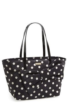 Free shipping and returns on kate spade new york 'petal drive lyndon' bow tote at Nordstrom.com. An oversized bow provides a charming, jaunty accent on a smooth fabric tote branded with a discreet goldtone logo plaque.