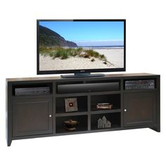 Have to have it. Legends Urban Loft 84 in. Super Console - Mocha - $699.99 @hayneedle