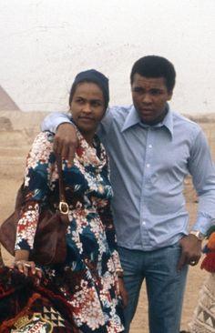 Khalilah and Muhammad Ali (m. 1967-1977)