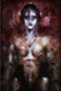 Metropolis 1927, Charcoal Drawing, Sci Fi Art, Horror Art, Macabre, Witchcraft, Colored Pencils, Painting & Drawing, Surrealism