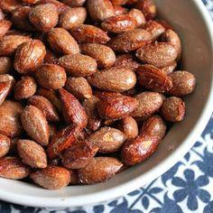 A Reader Recipe: Roasted Maple Cinnamon Almonds - www.fitsugar.com