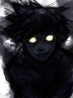 Heartless Sora by ~cheeseboy18193 on deviantART