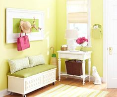 Design your entryway right the first time! More tips here: http://www.bhg.com/rooms/rooms/entryway/entryway-storage/?socsrc=bhgpin070814designitrightpage=3