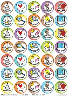 Why do I have this big smile on my face? With our ask my why stickers, everyone will be eager to hear what you did today! 24 designs / pack of 144 stickers Teaching Tools, Teaching Resources, Learning Activities, Kids Learning, Ib Learner Profile, Classroom Board, Classroom Ideas, International Baccalaureate, Preschool Colors