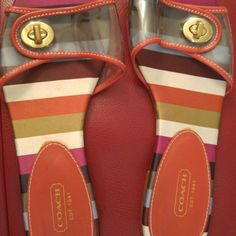 Coach Regatta Sandals Coach Regatta Sandals. Gently used. Great condition! Coach Shoes Sandals