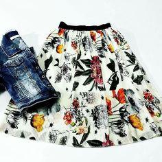 #gonna#denim#skirt#jacket#modaitaliana