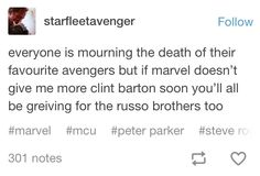 ⚠️SPOILER ⚠️ Yes, I need more Clint, everything should be Clint, I think he needs to save the universe. Marvel Avengers, Marvel Comics, The Magicians Nephew, Marvel Tumblr, Lab Safety, Clint Barton, Age Of Ultron, Jeremy Renner, Hawkeye