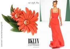 BKLYN contessa | sketchbook :: art + style duo #fashion #art #coral