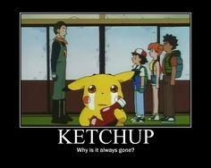 Ketchup Motivator by RomanticDetective.deviantart.com on @deviantART