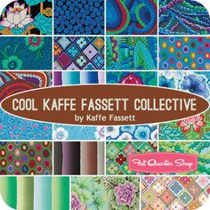 Cool+Kaffe+Fassett+Collective+Fat+Quarter+Bundle+Kaffe+Fassett+for+Westminster+Fibers