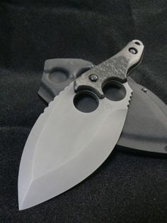 Cool knife, custom fixed blade.