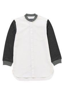 Next White Jersey Sleeve Shirt (3-16yrs) £15.50