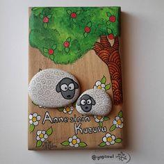 "116 Likes, 3 Comments - Meltem Firuzan Bozkurt Yılmaz (@yogisowl) on Instagram: ""❤ #taşboyama #stonepainting #rockpainting #pebblepainting #pebbleart #paintedrocks…"""
