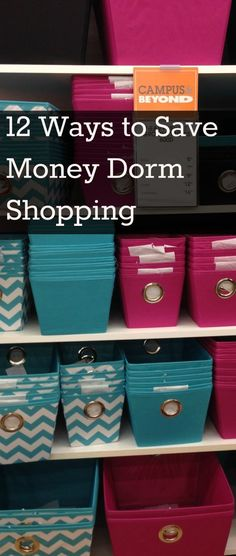 Top 12 Dorm Shopping Mistakes Everything you need to know about dorm shopping and organizing your dorm room. Here is what to buy and not buy and ways to save when sending your kid off to college - College Scholarships Tips