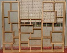 Biblioteca Tipo Cubos De Pino - $ 380,00 en MercadoLibre