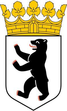 Coat of arms of Berlin - Brasões da Alemanha – Wikipédia, a enciclopédia livre
