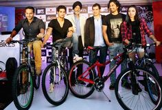 MTV adventure bikes a result of co-branding with Firefox Bikes