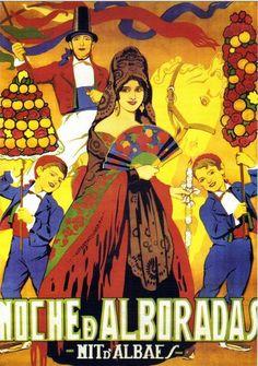"""Noche de Alboradas"" (1925)   Realización: Maximiliano Thous"
