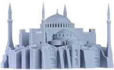 #3d #Printed Architectural model of a church. Start making your own 3d prototype now at: http://www.mylocal3dprinting.com. #3dPrintingArchitectureq