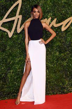 British Fashion Awards: The Full Winners List. Jourdan Dunn de Balmain.