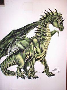 Dragone murales